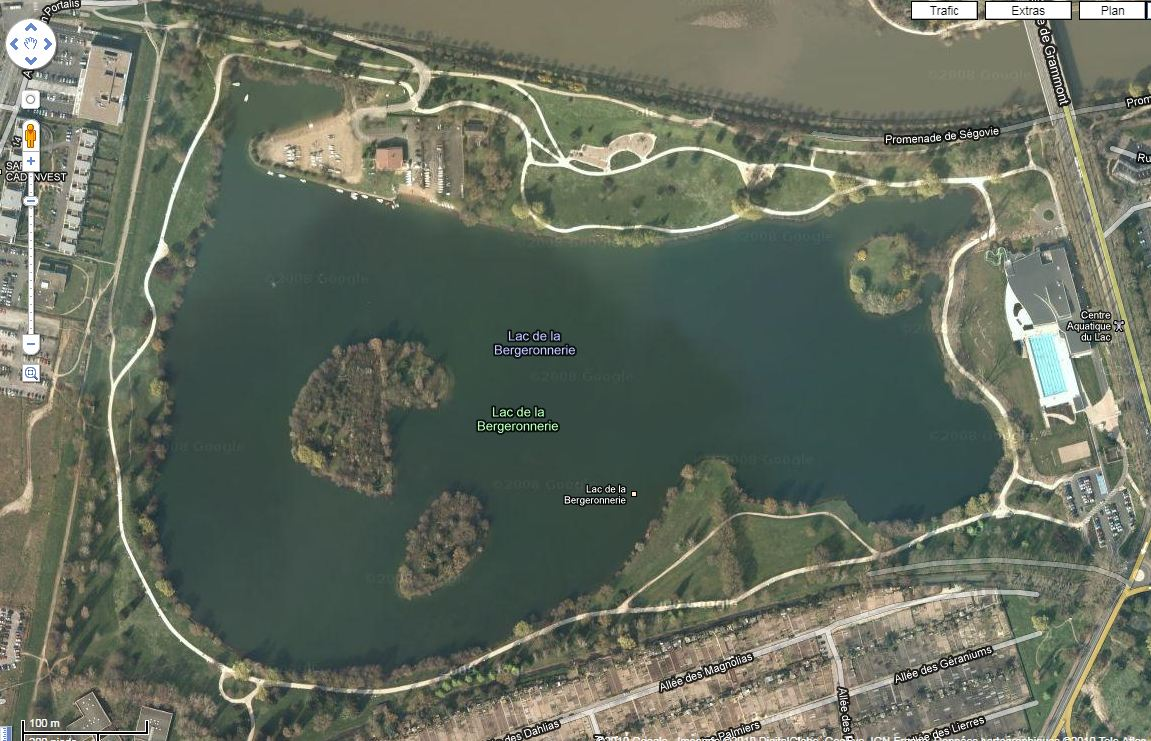 Tours parcs et jardisn de tours for Piscine du lac tours tarif